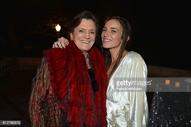 Guest and Kick Kennedy attend Hearst Castle Preservation Foundation Annual Benefit Weekend Legends of the Silver Screen Costume Gala at Hearst Castle...