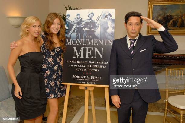 Guest and Lauren Gould Adam Nelson attend Robert M Edsel's THE MONUMENTS MEN Launch at The Metropolitan Museum of Art Hosted by Thomas Campbell at...