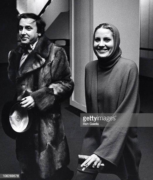 guest and Lorna Luft during Paul Anka's Opening at Uris Theatre December 4 1975 at Uris Theatre in New York City New York United States