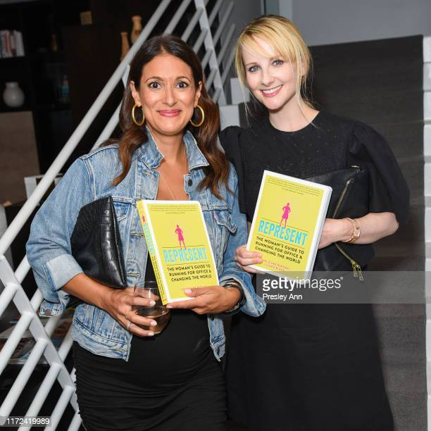 Guest and Melissa Rauch attend June Diane Raphael's new book release Represent The Woman's Guide To Running For Office And Changing The World at The...
