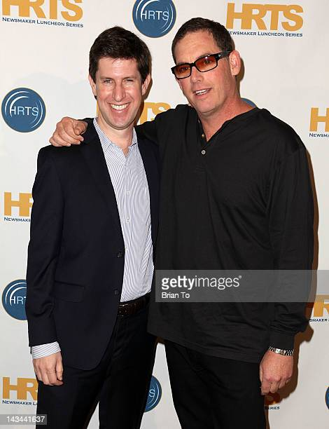 A guest and Mike Fleiss executive producer of The Bachelor attends The Hollywood Radio Television Society presents The Unscripted Hitmakers at The...