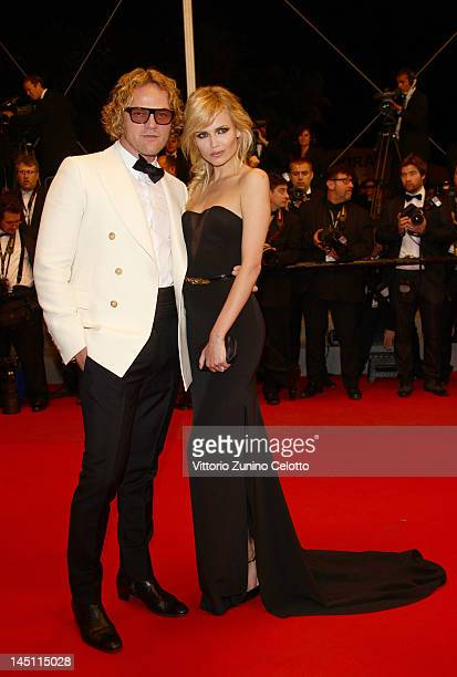 """Guest and model Natasha Poly attends the """"Holy Motors"""" Premiere during the 65th Annual Cannes Film Festival at Palais des Festivals on May 23, 2012..."""