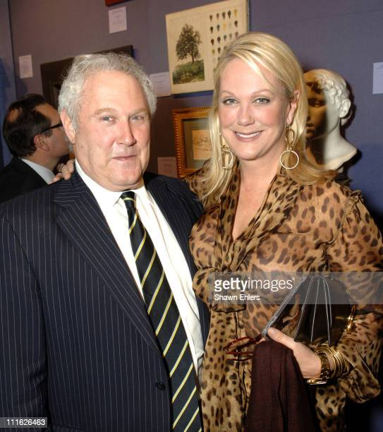 Guest and Nina Griscom during Memorial SloanKettering Cancer Center's 18th Preview Party for The Haughton International Fine Art and Antique Dealers...