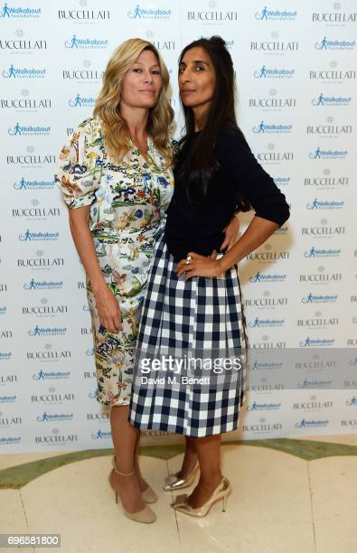 Guest and Norren Goodwin attend the Women4Walkabout Ladies Luncheon Sponsored By Buccellati at Claridges Hotel on June 16 2017 in London England