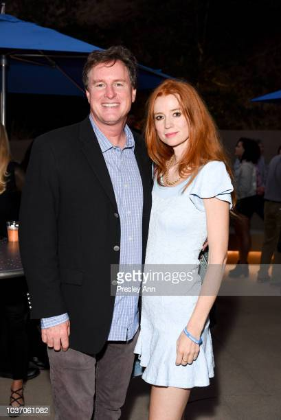 Guest and Odessa Rae attend 2018 LA Film Festival Opening Night Premiere Of Echo In The Canyon PreReception at John Anson Ford Amphitheatre on...