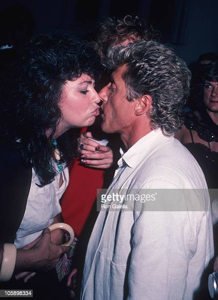 guest and Roger Daltrey of The Who during 'Amadeus' Premiere September 12 1984 at Lowe's Tower East Theater in New York New York United States