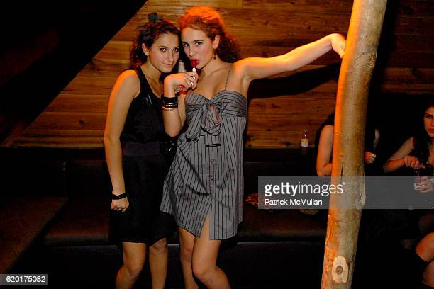 Natalie Coppa and Sara Foresi attend Party 4 a Cause at The Ultra on November 8 2008 in New York City