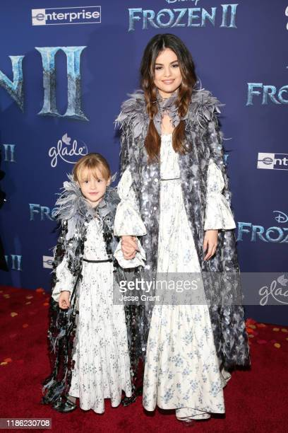 Guest and Selena Gomez attend the world premiere of Disney's Frozen 2 at Hollywood's Dolby Theatre on Thursday November 7 2019 in Hollywood California