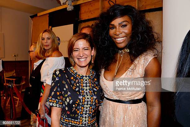 Guest and Serena Williams attend Serena Williams Signature Statement Collection By HSN Backstage September 2016 Style360 Fashion Week at KIA STYLE360...