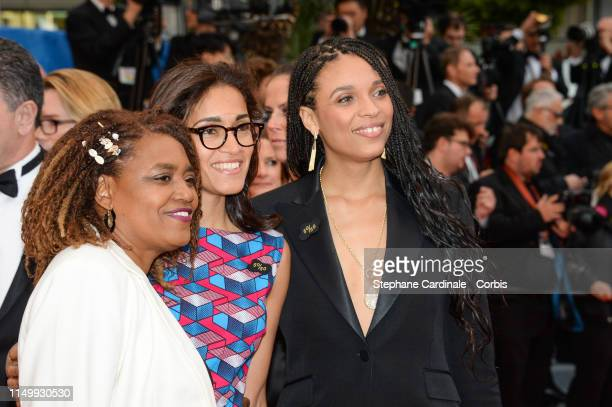 """Guest and Stefi Celma attend the screening of """"Pain And Glory """" during the 72nd annual Cannes Film Festival on May 17, 2019 in Cannes, France."""