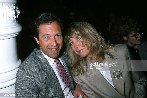 Guest and Teri Garr during Perry Ellis Fashion Show at Puck Building in New York City New York United States