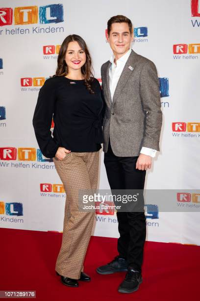 Guest and Timothy Boldt during the 23rd RTL Telethon on November 22 2018 in Huerth Germany