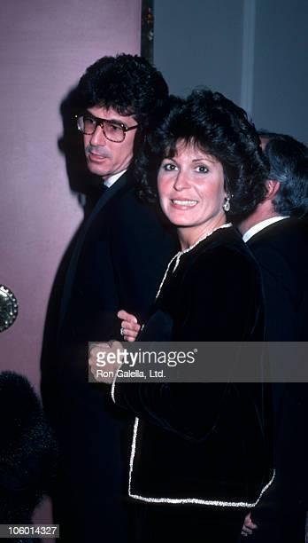 guest and Tina Sinatra during Tina Sinatra Sighting at the Beverly Hills Hilton October 9 1985 at Beverly Hilton Hotel in Beverly Hills California...