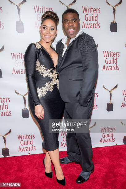 Guest and Traci Morgan attend the 2018 Writers Guild Awards NYC Ceremony on February 11 2018 in New York City