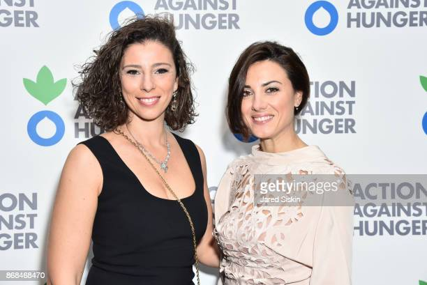 Guest and Verdiana Patacchini attend at Action Against Hunger 2017 Benefit Gala at 583 Park Avenue on October 30 2017 in New York City