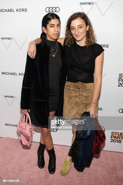 Guest and Willa Nasatir attend the Whitney Museum Celebrates The 2018 Annual Gala And Studio Party at The Whitney Museum of American Art on May 22...