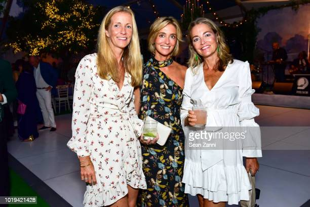 Guest Anna Clejan and Laurie Gordon attend the Animal Rescue Fund Of The Hamptons Bow Wow Meow Ball at ARF Adoption Center on August 18 2018 in...