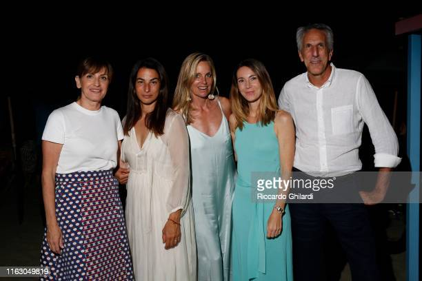 Guest Annalisa Bugliani Rachel Hovnanian and guests attend the welcome dinner celebrating the opening of Rachel Lee Hovnanian's museum show Open...