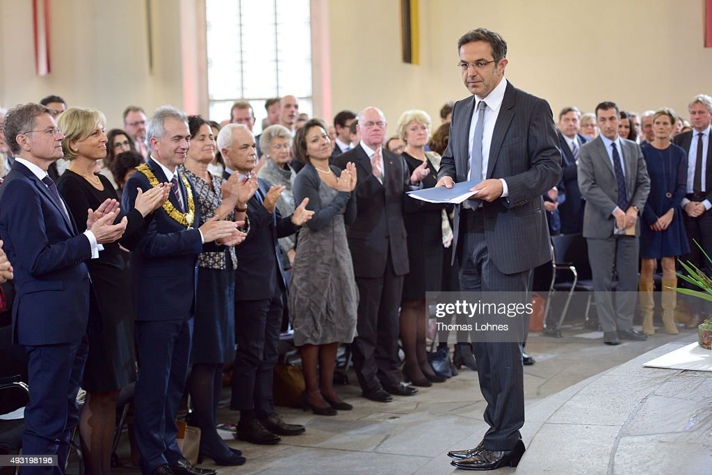 Navid Kermani Receives Peace Prize Of The German Book Trade : News Photo