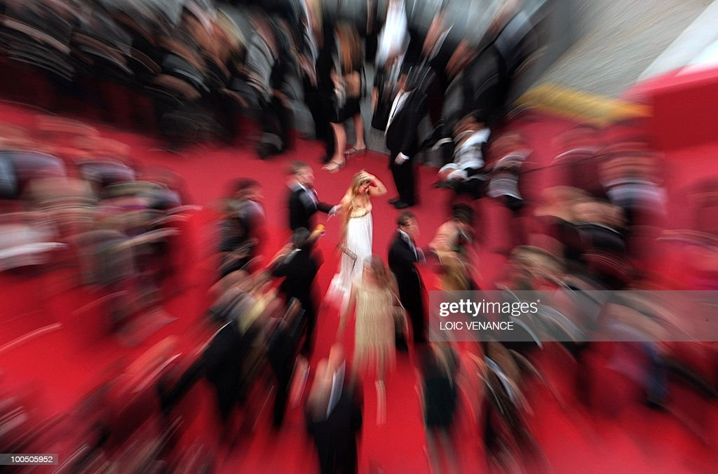 Guest arrive for the closing ceremony at the 63rd Cannes Film Festival on May 23, 2010 in Cannes.