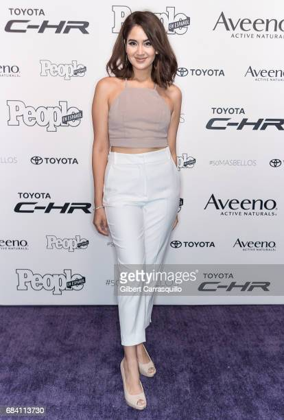 Guest arrives at People en Espanol's 50 Most Beautiful Gala 2017 at Espace on May 16 2017 in New York City