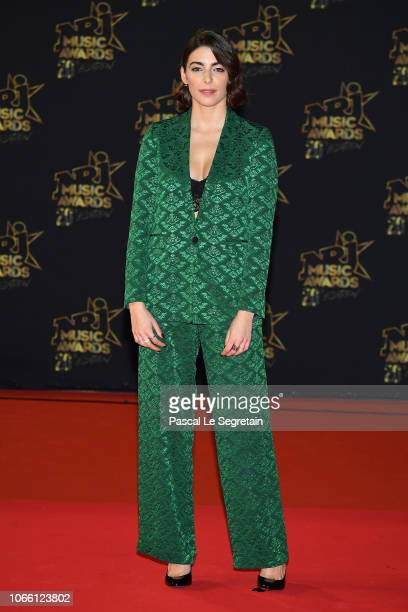 A guest arrives at the 20th NRJ Music Awards at Palais des Festivals on November 10 2018 in Cannes France