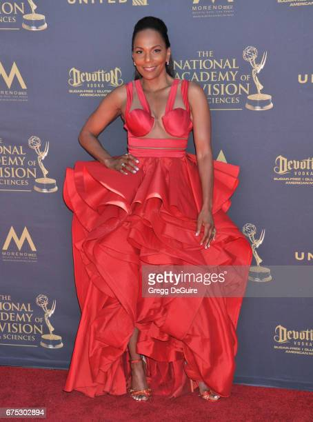 Guest arrives at the 44th Annual Daytime Emmy Awards at Pasadena Civic Auditorium on April 30 2017 in Pasadena California