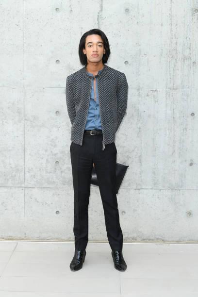 ITA: Emporio Armani - Arrivals - Milan Men's Fashion Week Spring/Summer 2020