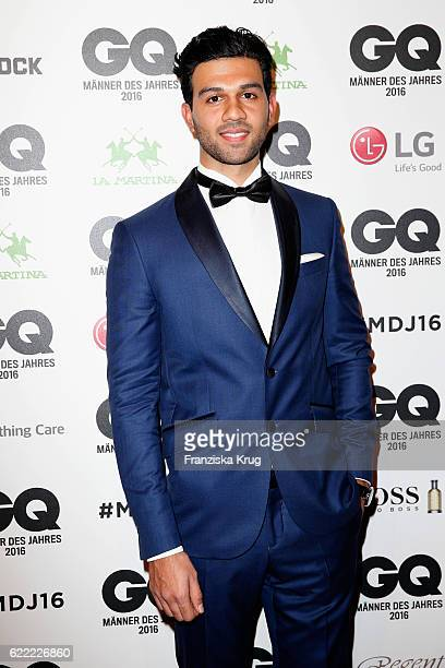 A guest arrives at the GQ Men of the year Award 2016 at Komische Oper on November 10 2016 in Berlin Germany