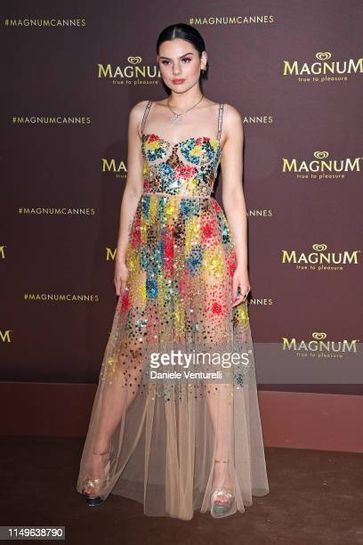 "Guest arrives at the ""MAGNUM x Rita Ora"" Party during the 72nd annual Cannes Film Festival on May 16, 2019 in Cannes, France."