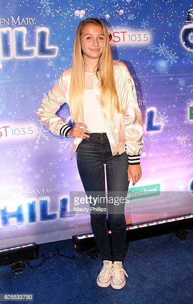 Guest arrives at The Queen Mary's CHILL Tree Lighting Ceremony at The Queen Mary on November 23 2016 in Long Beach California