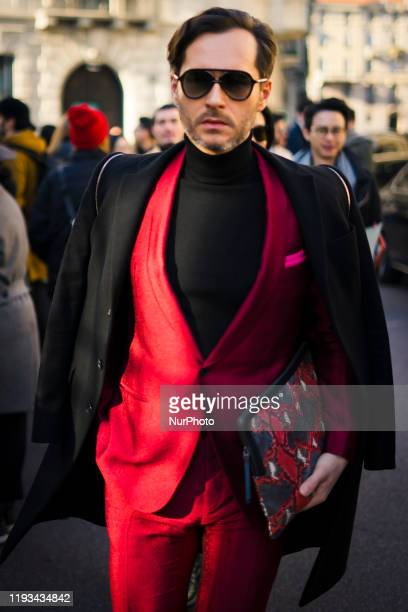 3 779 Street Style Milan Mens Fashion Week 2020 Photos And Premium High Res Pictures Getty Images