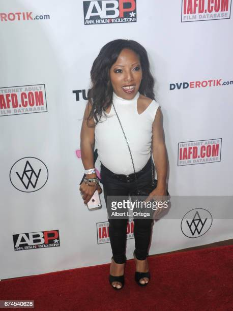 guest arrives for the 33rd Annual XRCO Awards Show held at OHM Nightclub on April 27 2017 in Hollywood California