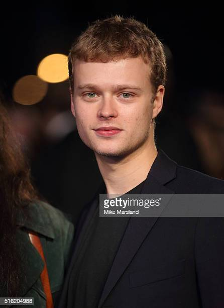 Guest arrives for the European premiere of 'Eddie The Eagle' at Odeon Leicester Square on March 17 2016 in London England