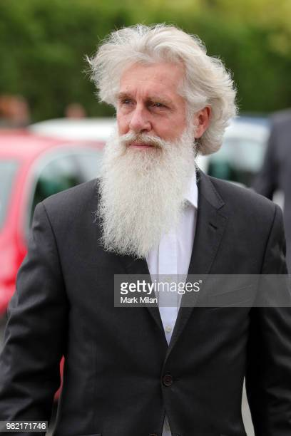 Guest arriving at Rayne Church in Kirkton on Rayne for the wedding of Kit Harrington and Rose Leslie on June 23 2018 in Aberdeen Scotland
