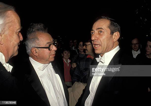 guest Art Buchwald and Mario Cuomo during Gridiron Club Hosts Annual Dinner Dance in Washington DC Washington DC United States