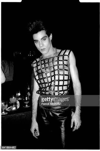 Guest at Perri Lister's birthday party at the Cat Club April 10 1984