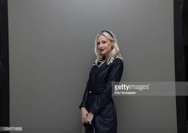 Guest at the LA Launch Event Of SohoMuse at Christopher Guy West Hollywood Showroom on February 07 2020 in West Hollywood California