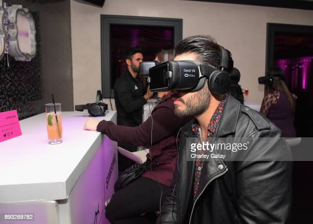 Guest at the NYX Professional Makeup and Samsung VR Launch Party at Beauty Essex on December 14 2017 in Los Angeles California