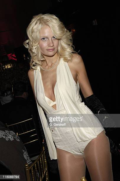 Guest at the Roberto Cavalli Vodka and Giuseppe Cipriani Halloween Party at Cipriani's 42nd Street on October 31 2007 in New York City