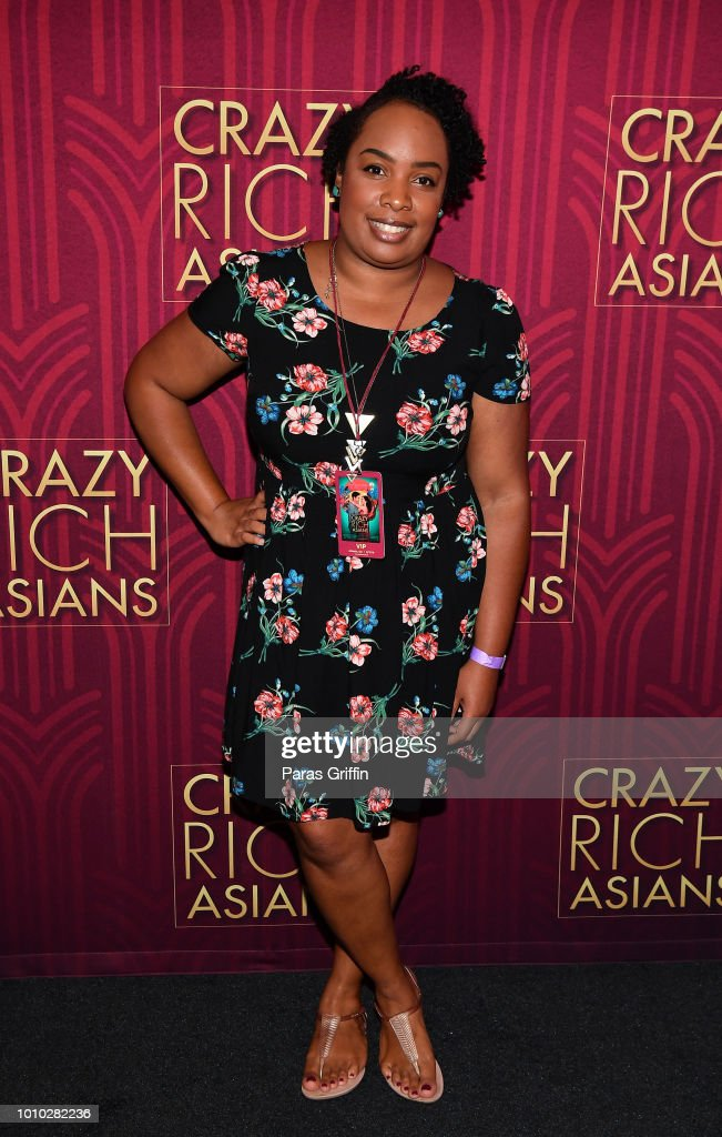 Crazy Rich Asians Red Carpet And After-Party In Atlanta, GA : News Photo