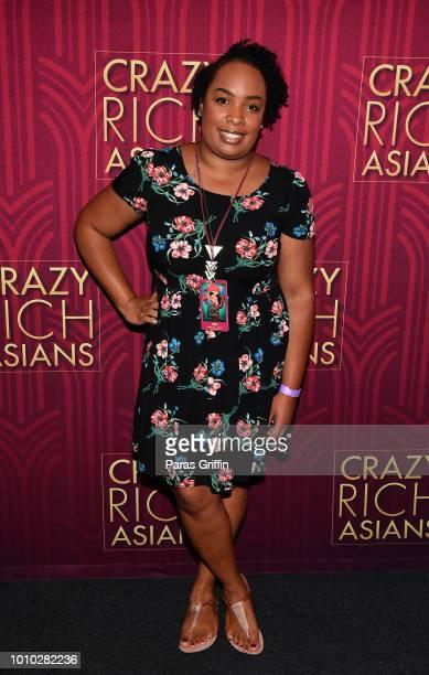 Guest attend Crazy Rich Asians Atlanta Red Carpet Screening at Regal Atlantic Station on August 2 2018 in Atlanta Georgia