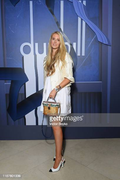Guest attend the Dunhill Spring Summer 2020 show as part of Paris Fashion Week on June 23, 2019 in Paris, France.