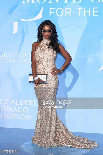 Guest attend the Gala for the Global Ocean hosted by H.S.H. Prince Albert II of Monaco at Opera of Monte-Carlo on September 26, 2019 in Monte-Carlo,...