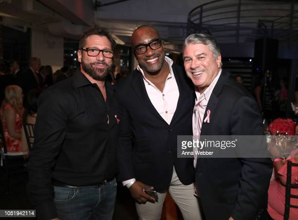 Guest attend The Pink Agenda's Annual Gala at Tribeca Rooftop on October 11 2018 in New York City
