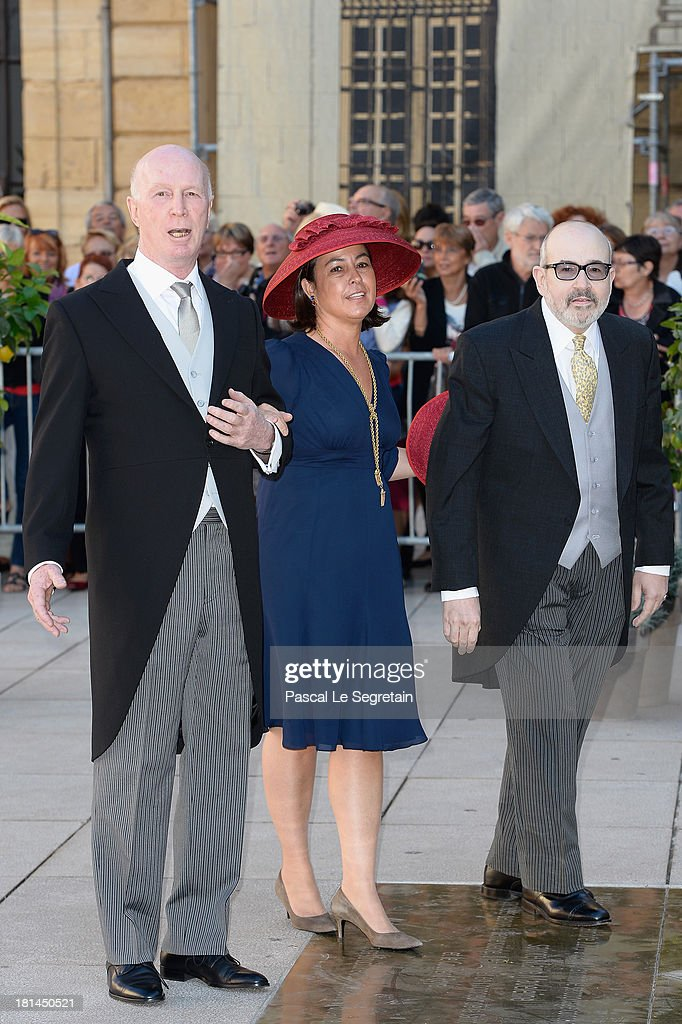 Religious Wedding Of Prince Felix Of Luxembourg & Claire Lademacher : Nieuwsfoto's