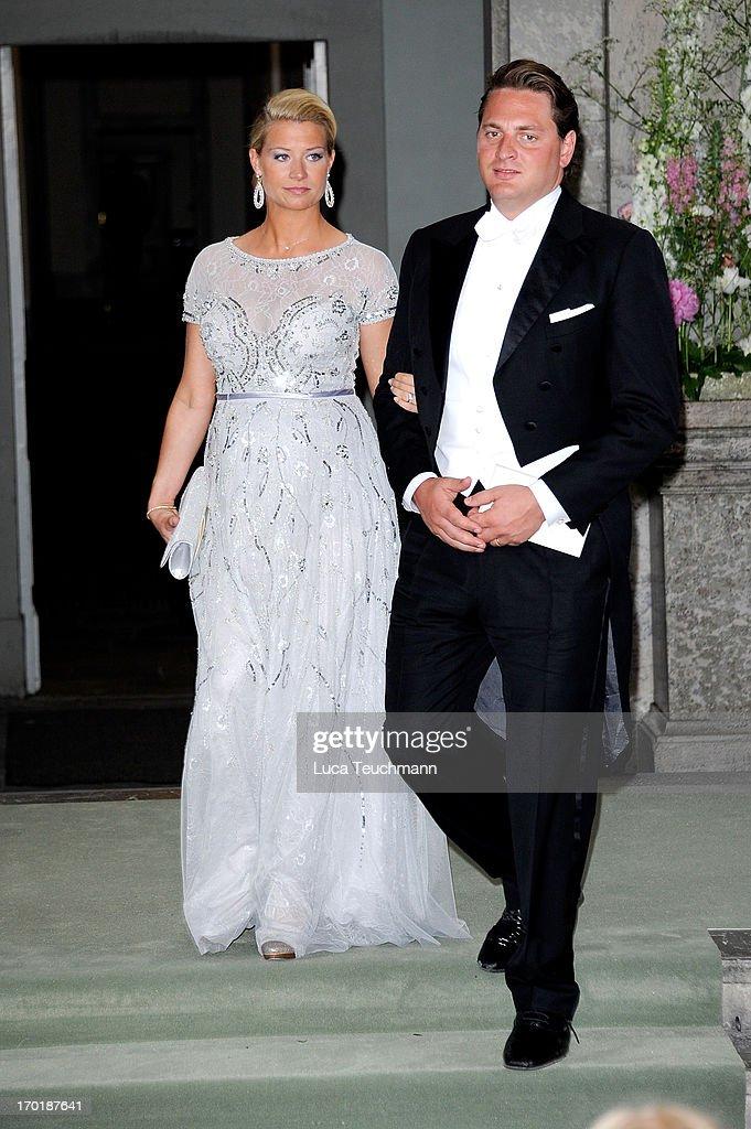 The Wedding Of Princess Madeleine & Christopher O'Neill : Nieuwsfoto's