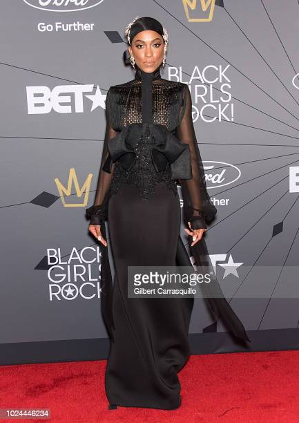Guest attends 2018 Black Girls Rock! at New Jersey Performing Arts Center on August 26, 2018 in Newark, New Jersey.