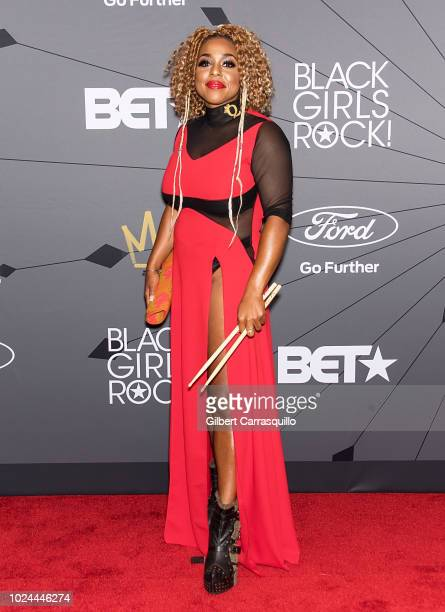 Guest attends 2018 Black Girls Rock at New Jersey Performing Arts Center on August 26 2018 in Newark New Jersey