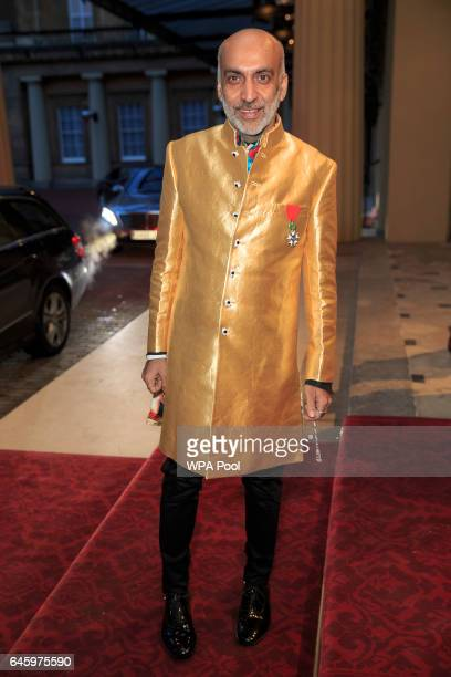 A guest attends a reception this evening to mark the launch of the UKIndia Year of Culture 2017 on February 27 2017 in London England The reception...